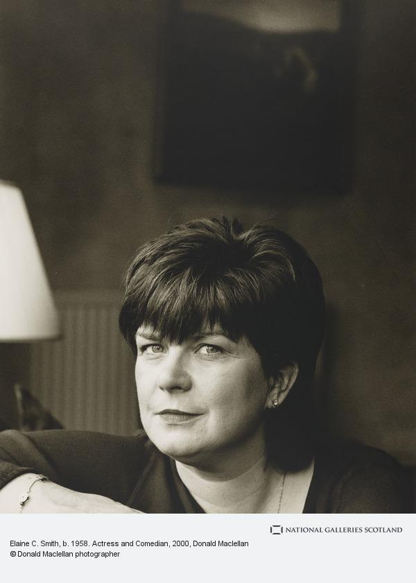 Donald Maclellan, Elaine C. Smith, b. 1958. Actress and Comedienne (9 March 2000)