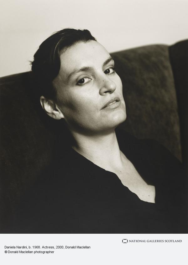 Donald Maclellan, Daniela Nardini, b. 1968. Actress (19 April 2000)