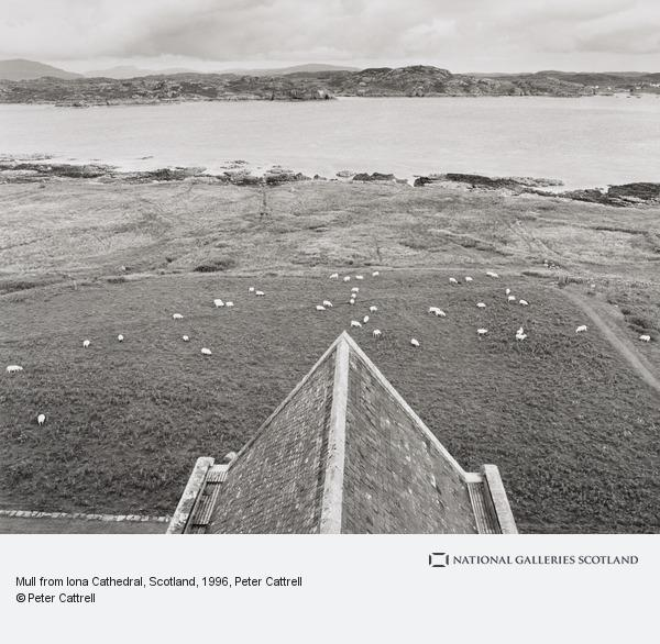 Peter Cattrell, Mull from Iona Cathedral, Scotland