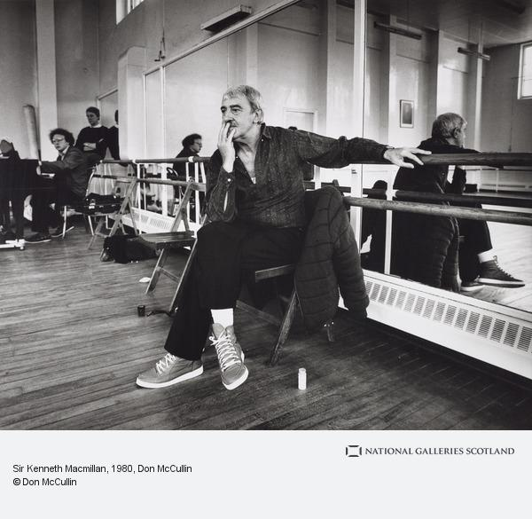 Don McCullin, Sir Kenneth Macmillan (About 1980)
