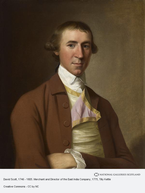 David Scott, 1746 - 1805  Merchant and Director of the East India