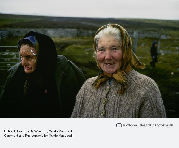 Murdo MacLeod, Untitled: Two Elderly Women