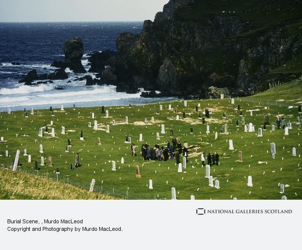 Murdo MacLeod, Burial Scene