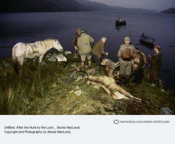 Murdo MacLeod, Untitled: After the Hunt by the Loch