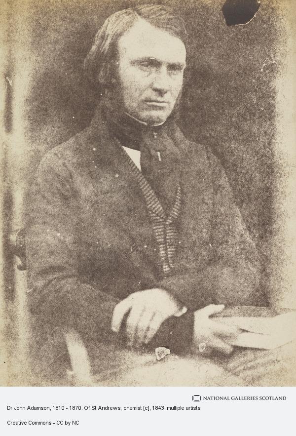 Robert Adamson, Dr John Adamson, 1810 - 1870. Of St Andrews; chemist [c]