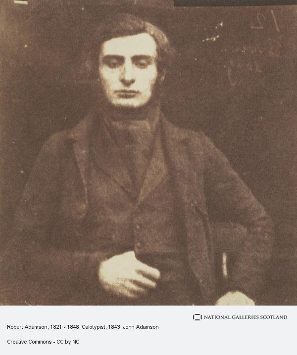 John Adamson, Robert Adamson, 1821 - 1848. Calotypist