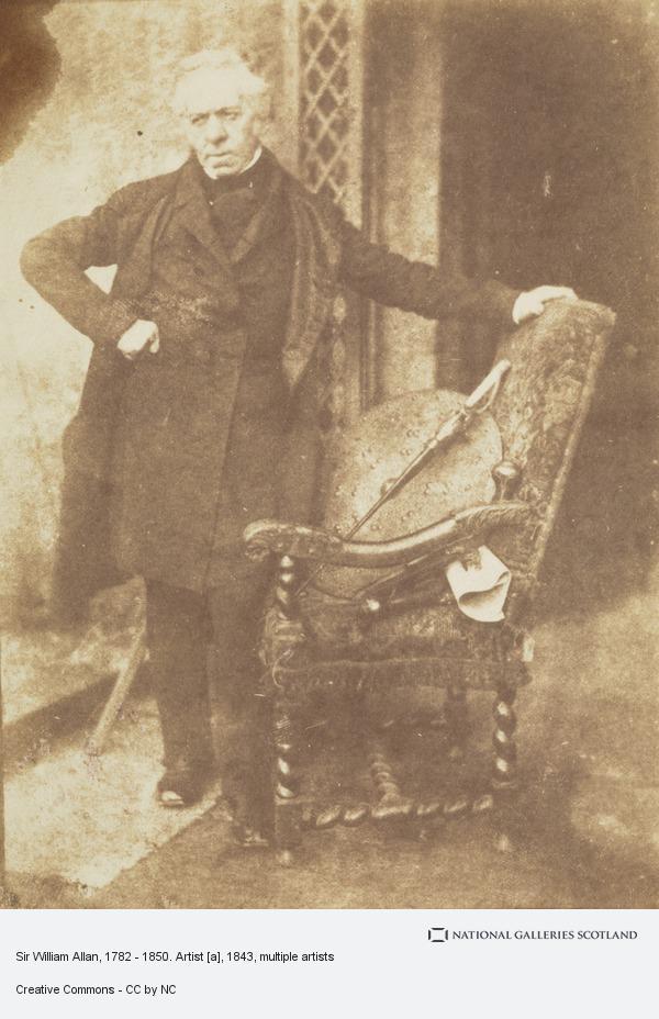 David Octavius Hill, Sir William Allan, 1782 - 1850. Artist [a]