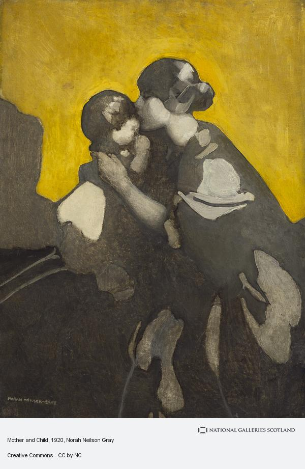 Norah Neilson Gray, Mother and Child (1920s)