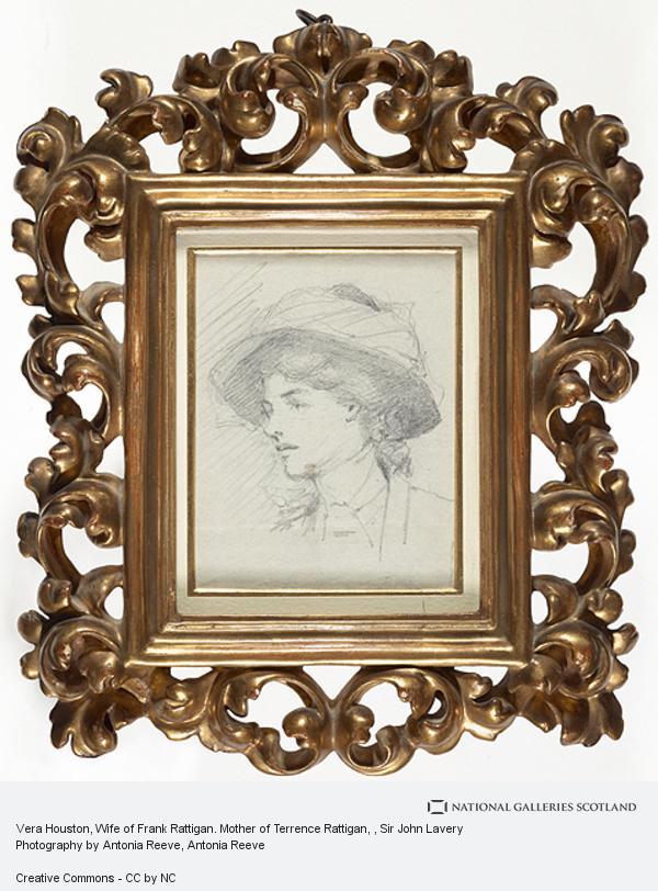Sir John Lavery, Vera Houston, Wife of Frank Rattigan. Mother of Terrence Rattigan