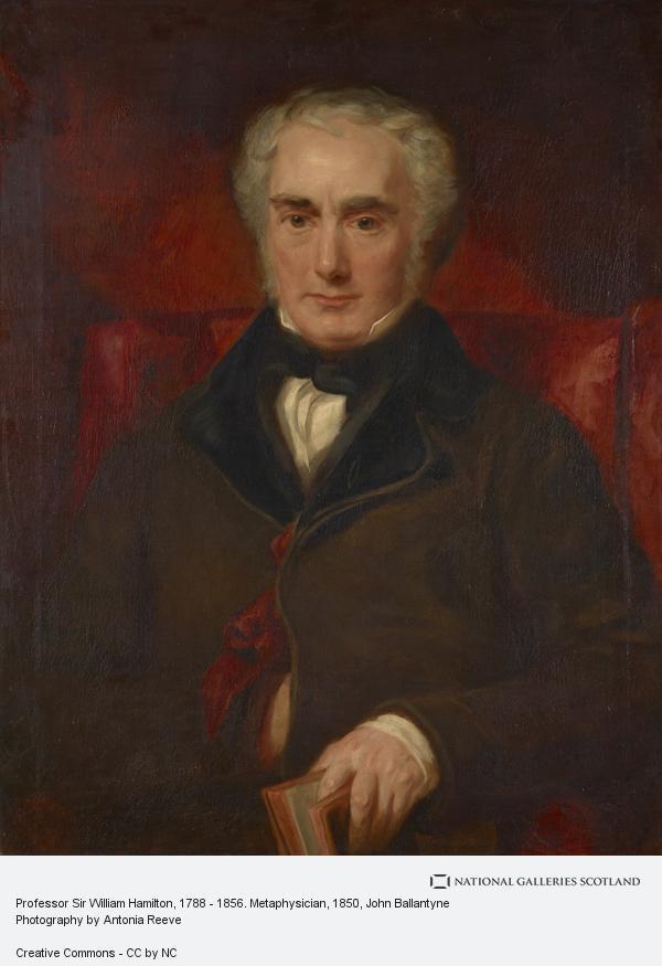 John Ballantyne, Professor Sir William Hamilton, 1788 - 1856. Metaphysician