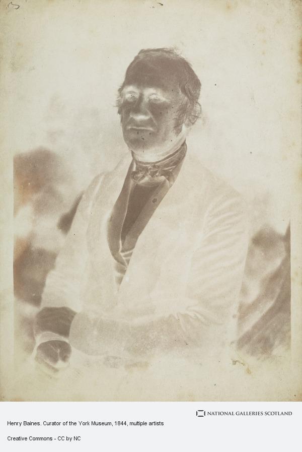 David Octavius Hill, Henry Baines. Curator of the York Museum