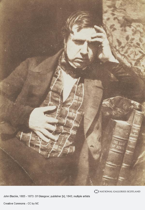 Robert Adamson, John Blackie, 1805 - 1873. Of Glasgow; publisher [b]