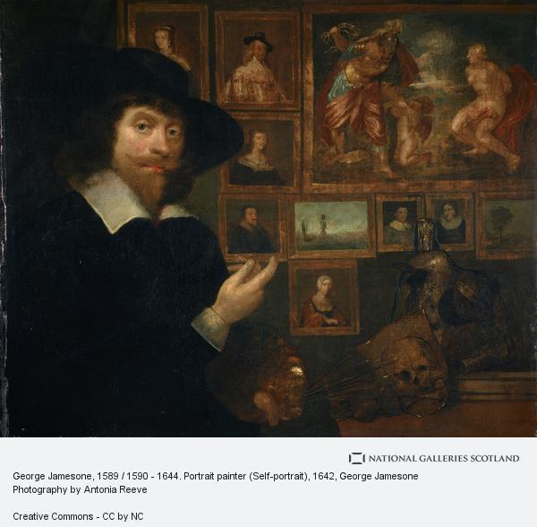 George Jamesone, George Jamesone, 1589 / 1590 - 1644. Portrait painter (Self-portrait)