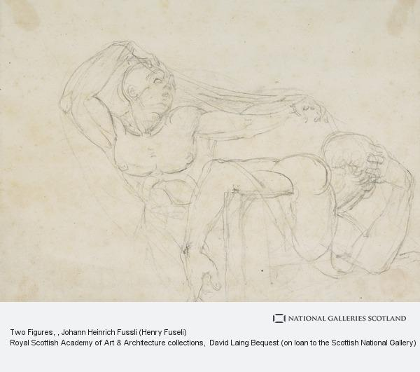Johann Heinrich Fussli (Henry Fuseli), Two Figures