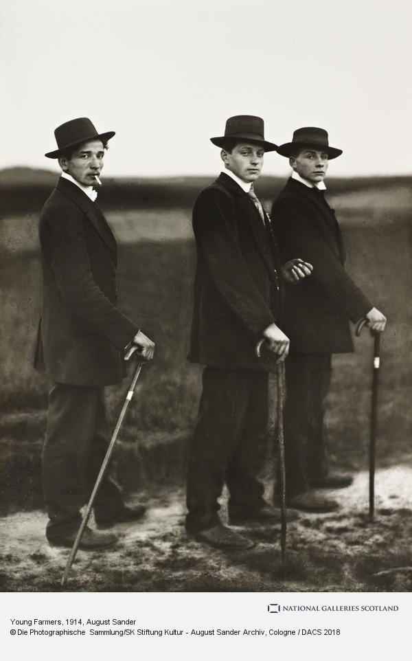 August Sander, Young Farmers, 1914 (1914)