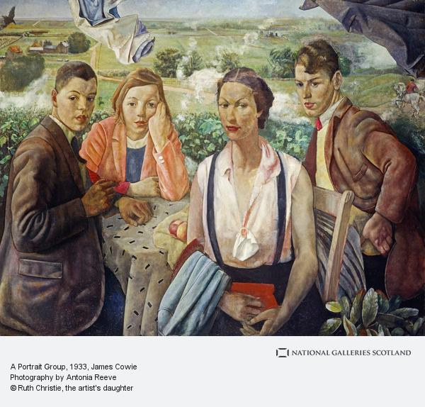 James Cowie, A Portrait Group