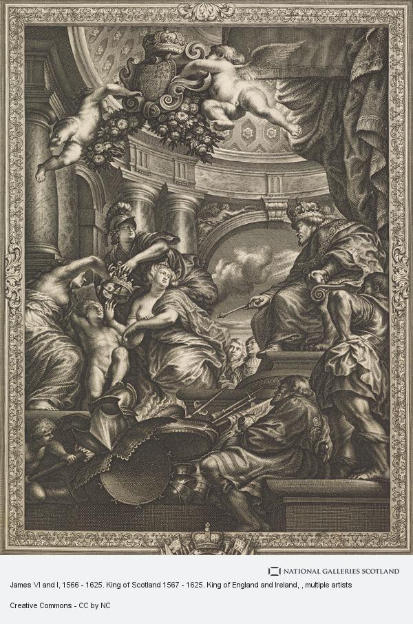 Simon Gribelin, James VI and I, 1566 - 1625. King of Scotland 1567 - 1625. King of England and Ireland