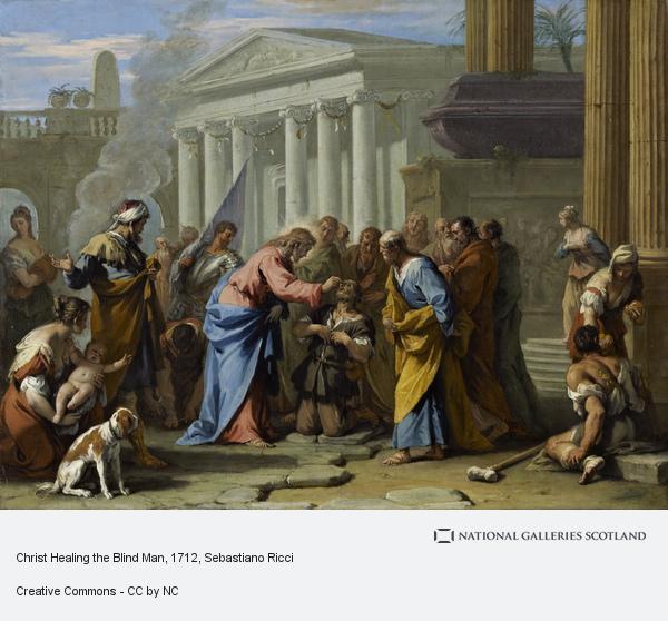 Sebastiano Ricci, Christ Healing the Blind Man