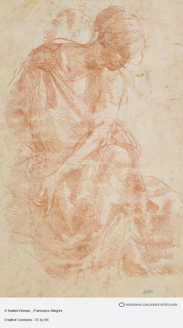 Francesco Allegrini, A Seated Woman