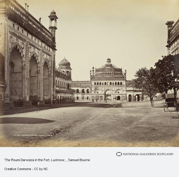 Samuel Bourne, 'The Roumi Darwaza in the Fort, Lucknow