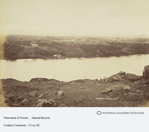 Samuel Bourne, 'Panorama of Poona'.