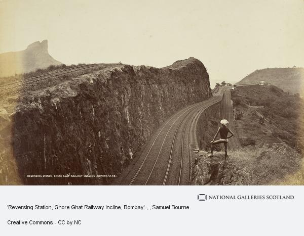Samuel Bourne, 'Reversing Station, Ghore Ghat Railway Incline, Bombay'.