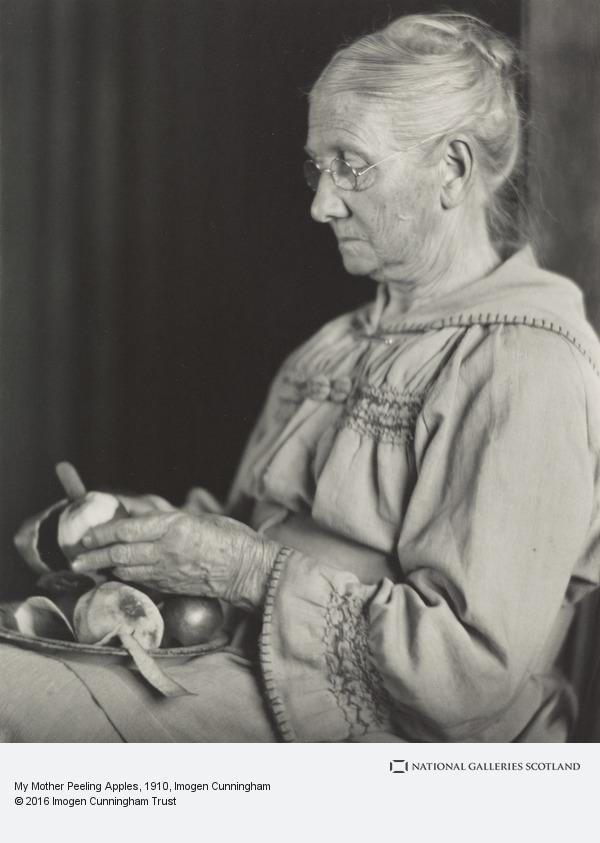 Imogen Cunningham, My Mother Peeling Apples