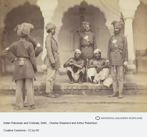 Charles Shepherd and Arthur Robertson, Indian Policeman and Criminals, Delhi