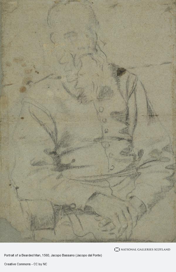 Jacopo Bassano, Portrait of a Bearded Man