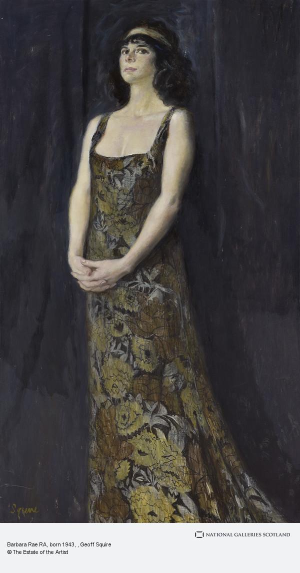 Geoff Squire, Barbara Rae RA, born 1943