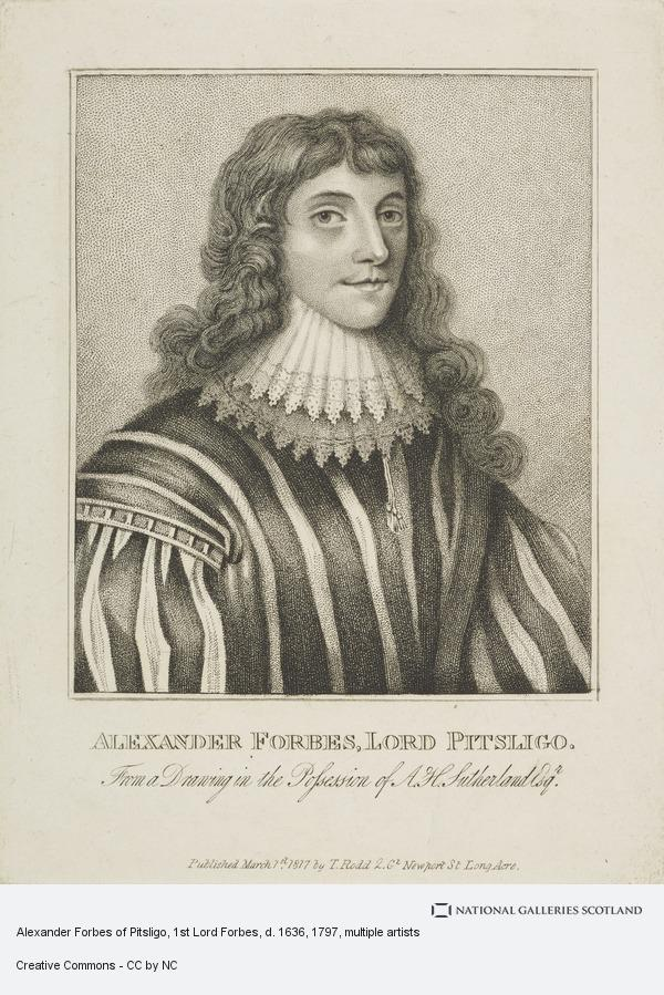 Unknown, Alexander Forbes of Pitsligo, 1st Lord Forbes, d. 1636