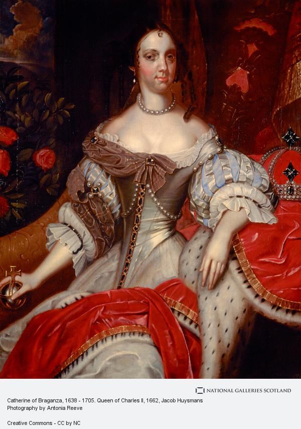 Jacob Huysmans, Catherine of Braganza, 1638 - 1705. Queen of Charles II