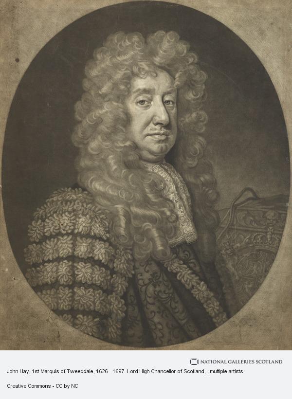 John Smith, John Hay, 1st Marquis of Tweeddale, 1626 - 1697. Lord High Chancellor of Scotland