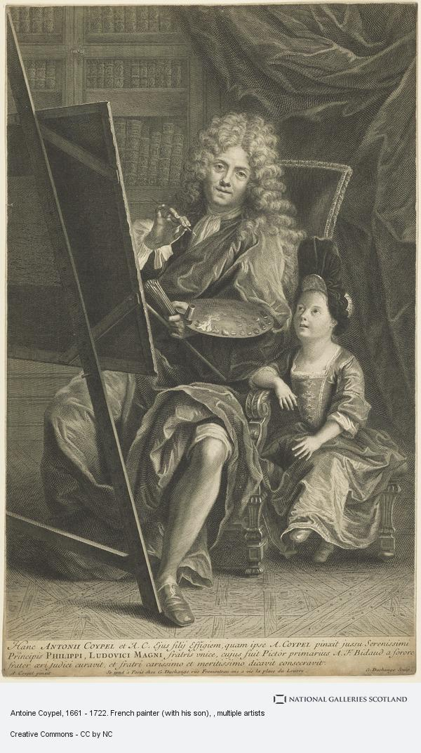Gaspard Duchange, Antoine Coypel, 1661 - 1722. French painter (with his son)