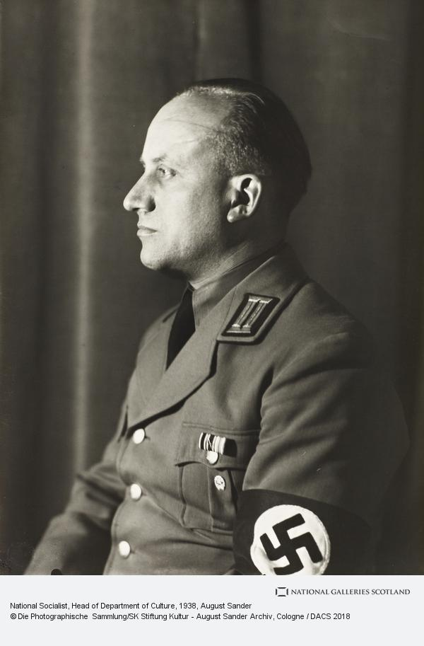 August Sander, National Socialist, Head of Department of Culture, c.1938 (about 1938)