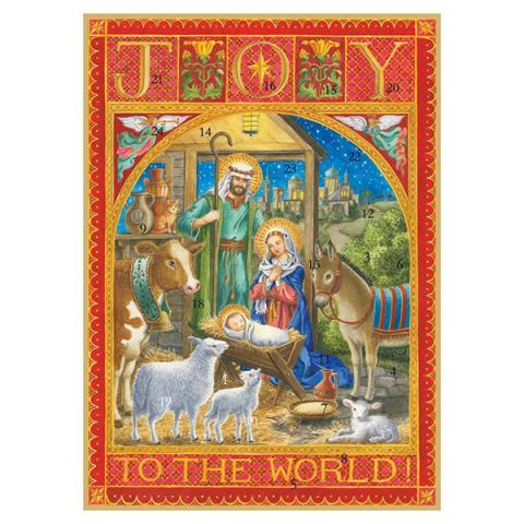 Joy to the world advent calendar