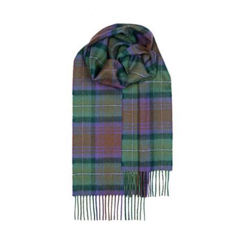 100% pure lambs wool Isle of Skye tartan scarf