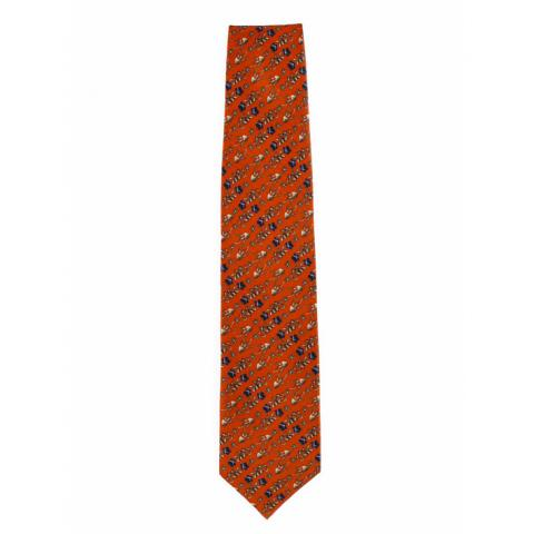 Erskine George Jamesone Red Silk Tie