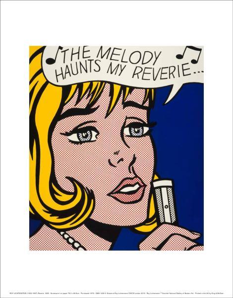 Reverie Roy Lichtenstein Art Print
