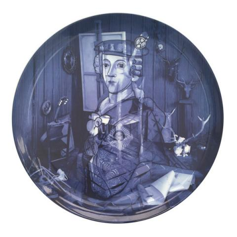 Calum Colvin limited edition Jacobite plate