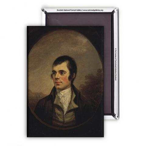 Robert Burns (oval) Alexander Nasmyth Magnet