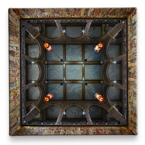 Scottish National Portrait Gallery Ceiling Ceramic Coaster