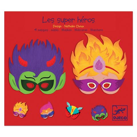 Djeco Super Heroes Masks