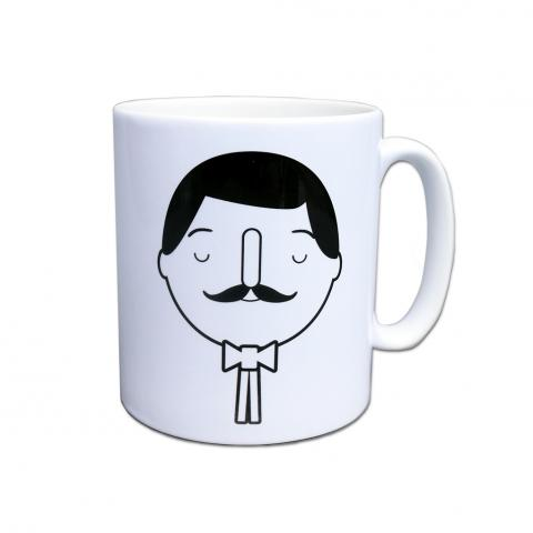 Charles Rennie Mackintosh ceramic mug