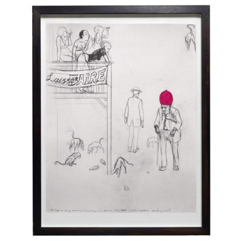 Laissez Faire Charles Avery Limited Edition Print