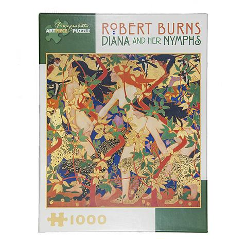 Diana and her Nymphs by Robert Burns Jigsaw Puzzle