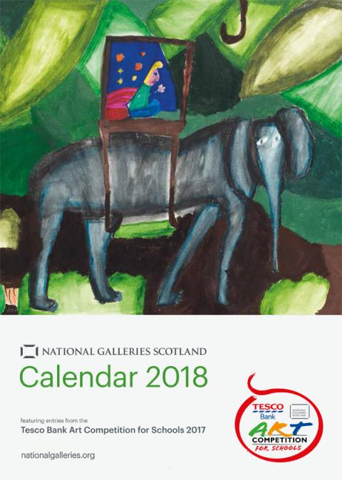 Tesco Bank Art Competition for Schools Calendar 2018