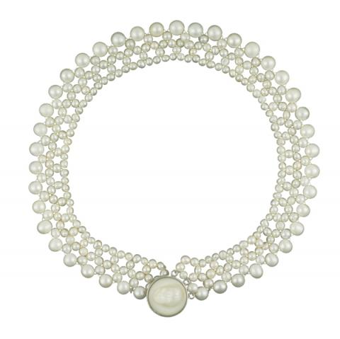 The Real Pearl Necklace Pearl Choker