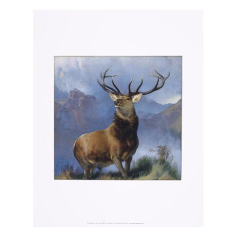 The Monarch of the Glen Edwin Landseer Art Print