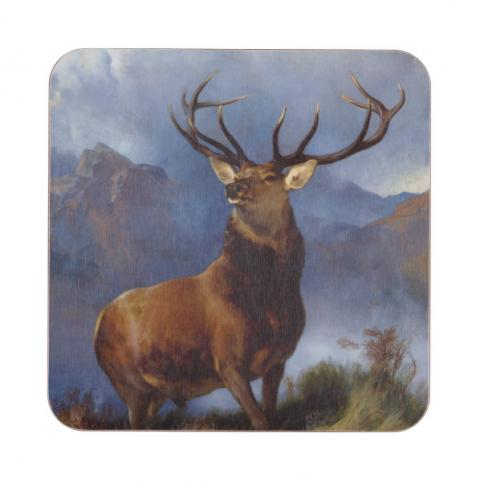 The Monarch of the Glen by Edwin Landseer coaster